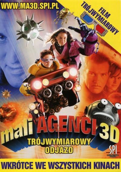 Mali Agenci 3D: Trójwymiarowy odjazd (2003)
