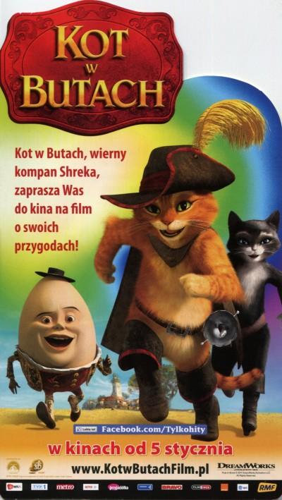 Kot W Butach Ulotki Filmowe Movie Flyers Ulotki Filmowe Movie